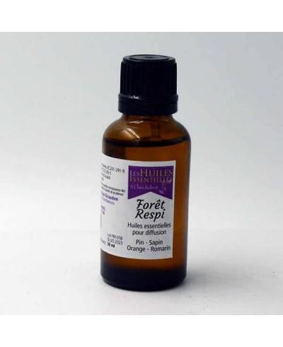 Forêt-Respi mélange d'huiles essentielles 30ml anti rhume et toux