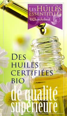 Des huiles essentielles bio de qualité supérieure